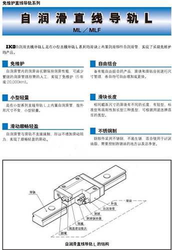 IKO免维护直线导轨系列